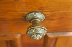 Brass Door Handle Stock Images