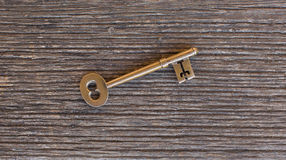 Brass Door Key Royalty Free Stock Image