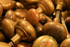 Brass Door Knobs Stock Photos