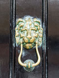 Brass door knocker Stock Photography