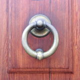 Brass Door Knocker Royalty Free Stock Photography