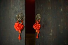 Brass door knockers,China Stock Photo