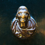 Brass doorknob Stock Images