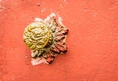 Brass Doorknob Stock Photography