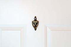 Brass doorknocker Royalty Free Stock Photo