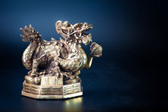 Brass dragon chinese classic religion Stock Photos