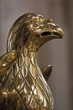 Brass eagle Stock Photos