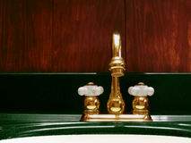 Brass faucet Royalty Free Stock Photography