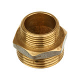 Brass fitting Royalty Free Stock Photos