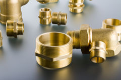 Free Brass Fittings Stock Photography - 63443582