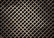 Brass grate texture. Black holes and golden shine in brass grate texture royalty free stock photos