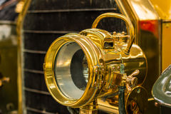 Brass Head Lamp Stock Photography