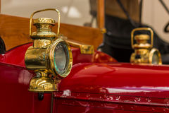 Brass Head Lamp Stock Images