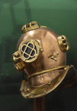 Brass helmet Royalty Free Stock Photo