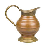 Brass jug Stock Photography