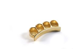 Brass Knuckles Stock Image