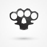 Brass knuckles Royalty Free Stock Photography