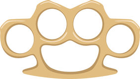 Brass Knuckles Royalty Free Stock Photo