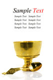 Brass and ladle Stock Image