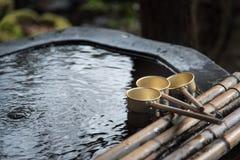 Brass ladle Stock Image
