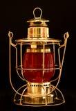 Brass Lantern Stock Photo