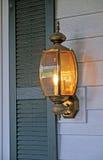 Brass lantern Stock Image