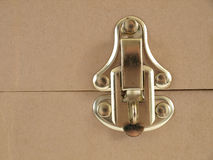 Brass Latch Stock Photography