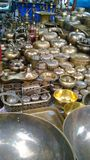 Brass line Royalty Free Stock Photo