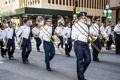 Brass Marching Band Royalty Free Stock Photo