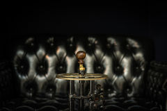 Brass Metal Knob Bar Stock Photo