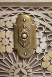 Brass Moroccan door bell Stock Photo