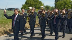 Brass music Stock Photos