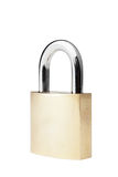 Brass Padlock Royalty Free Stock Photography