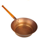 Brass pan Stock Images