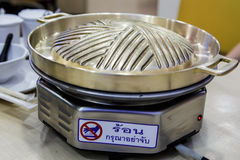 Brass pan Stock Images