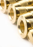 Brass parts Stock Images