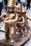 Brass Pipers Stock Photography