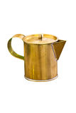 Brass Pitcher. Royalty Free Stock Photography