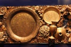 Brass relics Royalty Free Stock Photos