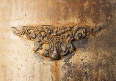 Brass relief Stock Photos