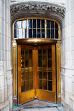 Brass Revolving Door Royalty Free Stock Photo