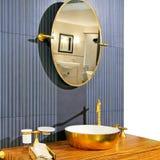 Brass sanitation Stock Images