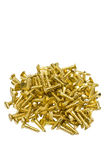 Brass Screws Royalty Free Stock Images