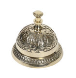 Brass Service bell Royalty Free Stock Image
