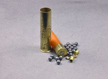 brass shell Stock Images