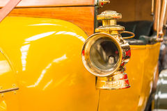 Brass Side Head Lamp Royalty Free Stock Photography