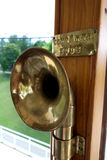 Brass Sounding Tube Royalty Free Stock Images