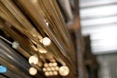 Brass Storage Stock Photography