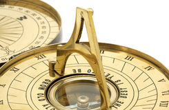 Brass Sundial Stock Photos