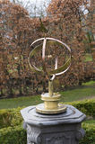 Brass sundial Royalty Free Stock Image